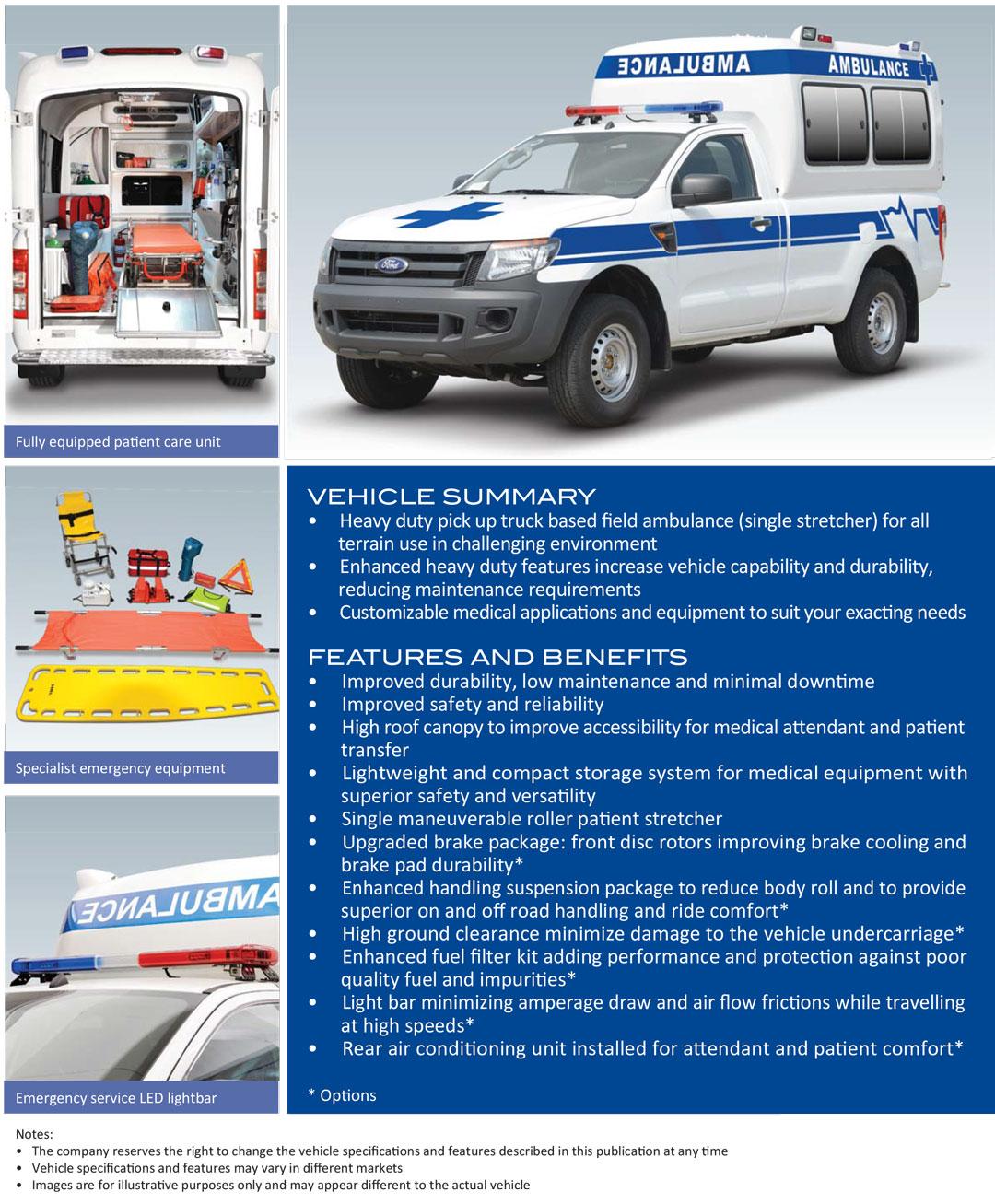 Ford-ranger-ambulance